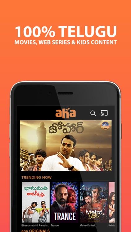 aha - OTT   Movies, Webseries