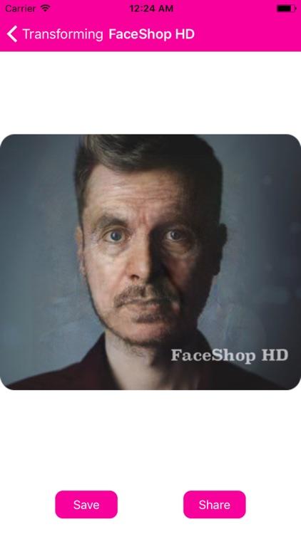 FaceShop HD: Face Effects screenshot-7
