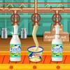 酪農場の牛乳工場ゲーム
