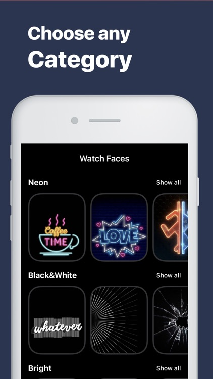 Watch Faces・Gallery Wallpapers screenshot-3