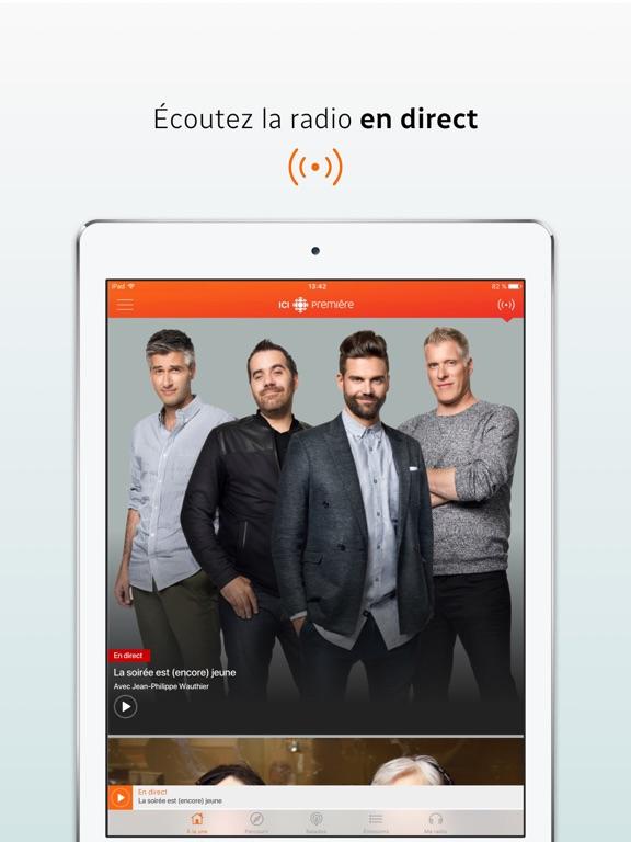 ICI Radio-Canada Première Скриншоты6