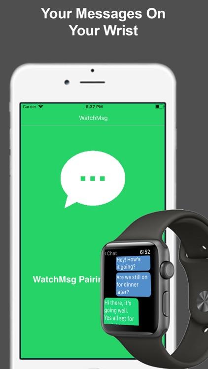 WatchMsg for WhatsApp
