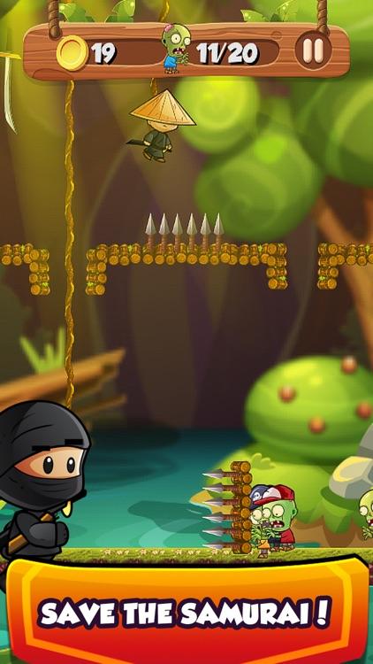 Ninja Kid Sword Flip Challenge screenshot-4