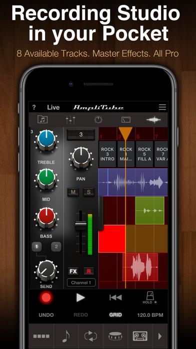 Screenshot for AmpliTube Slash in Chile App Store