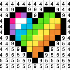 Colour by Number:Paint Games