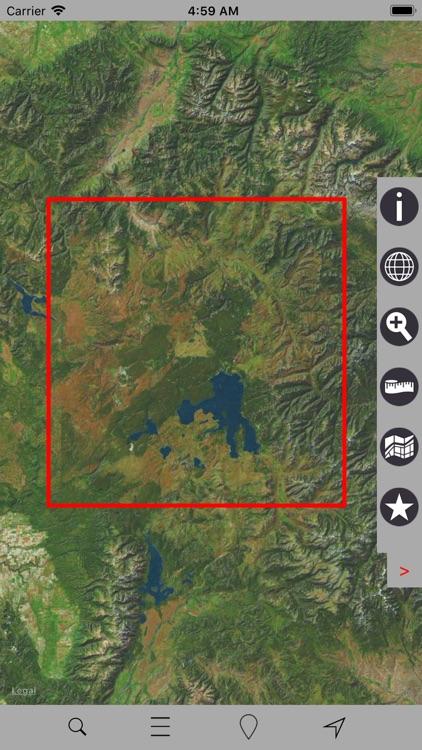 Yellowstone National Park GPS screenshot-5