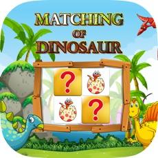 Activities of Matching Of Dinosaur :Matching