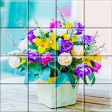 Activities of Tile Puzzle Flowers Bouquet