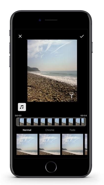 Slingshot Video Filter