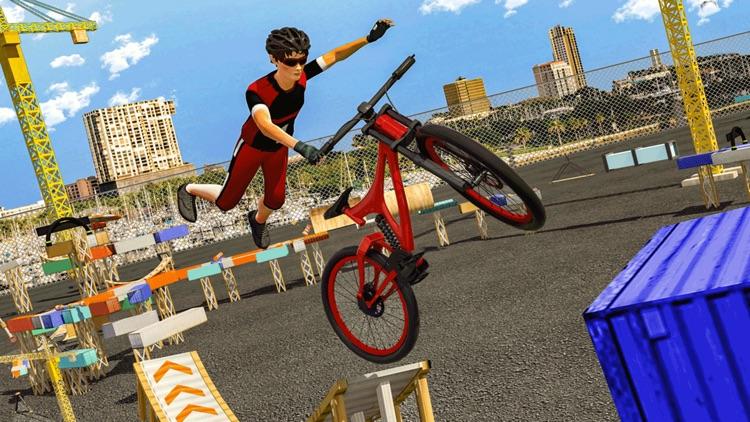 BMX Cycle Stunt Race