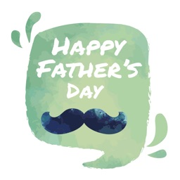 Happy Fathers Day 2018 Sticker