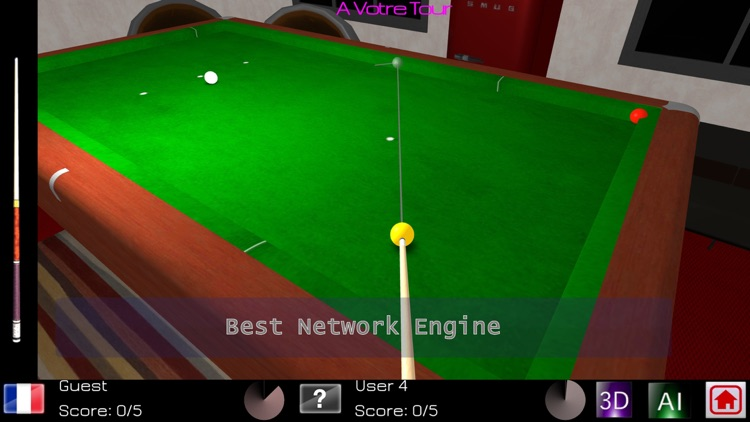 Carom Billiards Pro screenshot-3