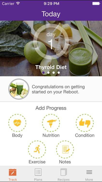 Thyroid Juicing & Eating Plan