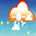 天气预报-精准72小时预报和生活指数 icon