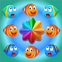 Fish Match 3-Puzzle Game