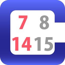 choical - easy calendar input