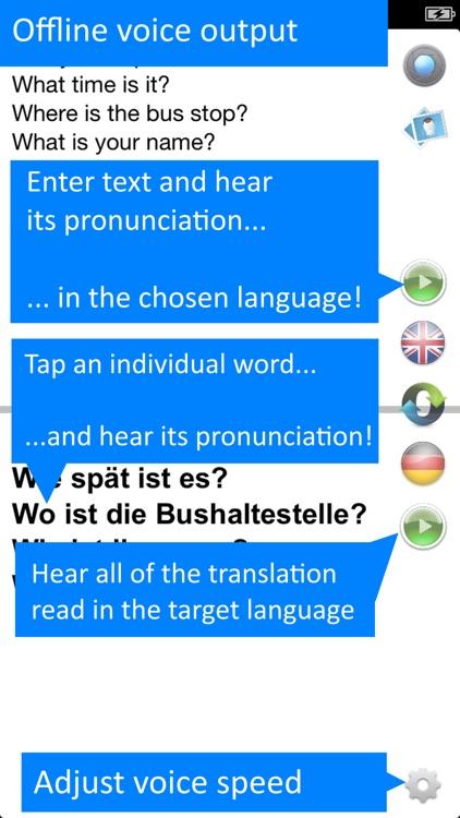 Offline Translator: German screenshot-4