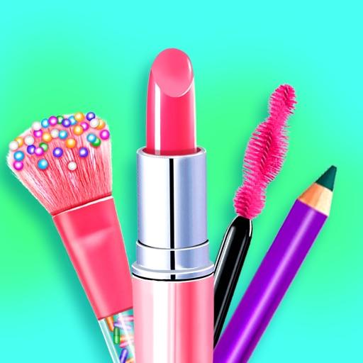 Makeup Kit Dress Up Girl Games Icon
