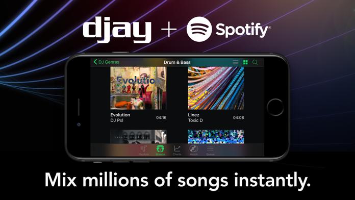 djay LE - DJ Mixer App Screenshot