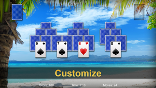 Pyramid Solitaire Pro ▻ screenshot1