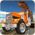 Jurassic Animal Transport Sim icon