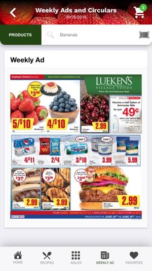 lueken s village foods on the app store