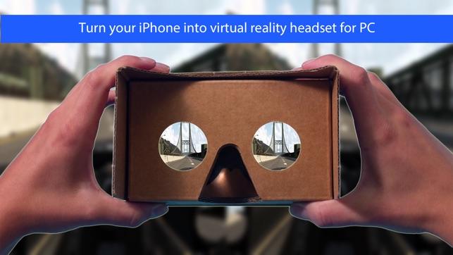 KinoVR virtual reality headset on the App Store