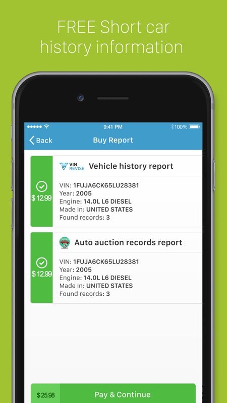 Vehicle History Report Free >> Vin Revise Check Car History Online Game Hack And Cheat