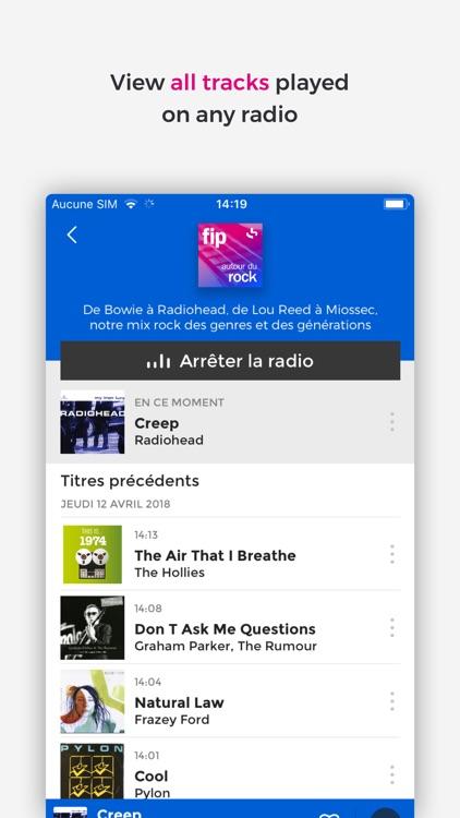 Fip – online radios, playlists screenshot-3