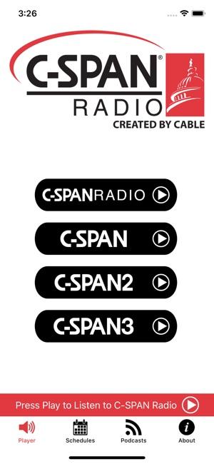 C span schedule