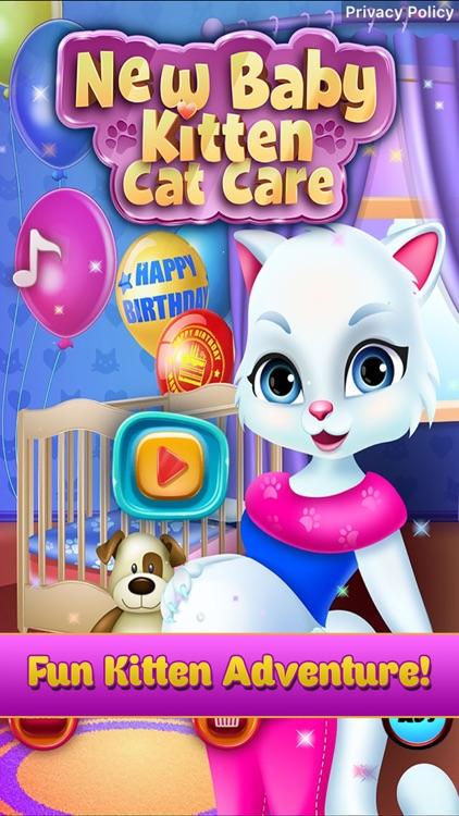 New Baby Pet Kitten Cat Games screenshot-0