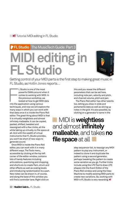 Music Tech Guide ... FL Studio screenshot-3