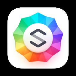 Ícone do app Sparkle, Visual Web Design