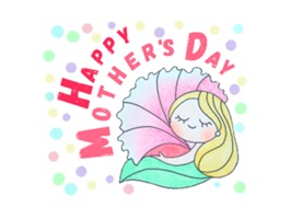 Happy Mother's Day - Stickers