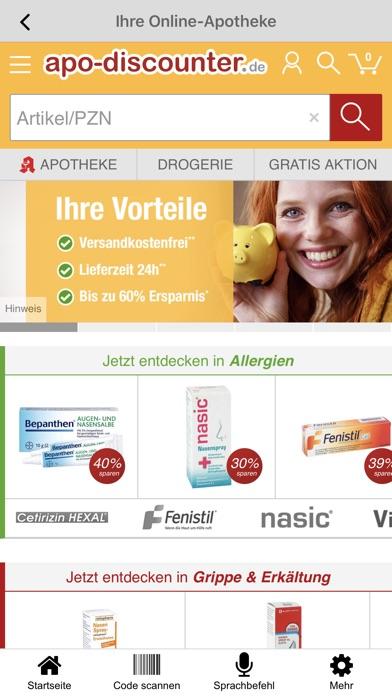 Screenshot for apodiscounter Apotheke in Germany App Store