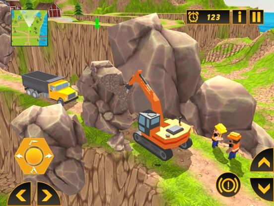 Heavy Crane Excavator 2018 screenshot 6