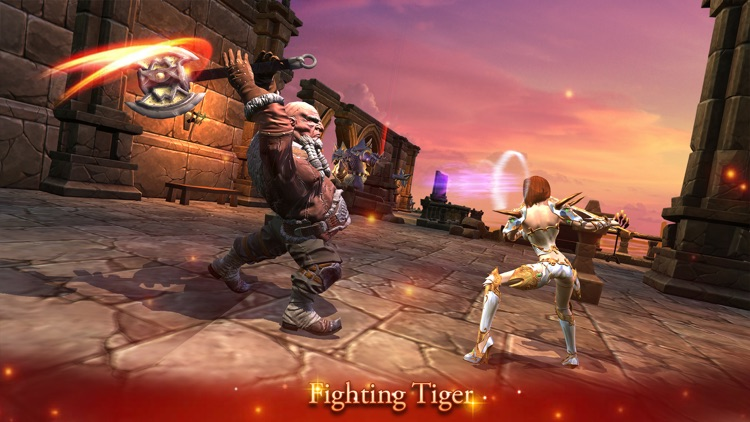 Fighting Tiger Death blade