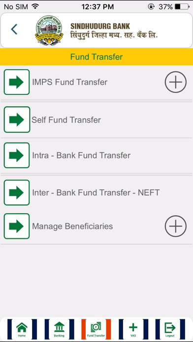 Screenshot for Sindhudurg Bank in Taiwan App Store