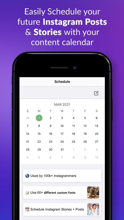PostBuilder: Schedule Stories