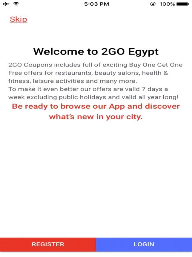 2GO Egypt on the App Store