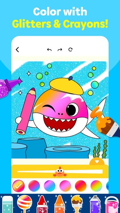Baby Shark Coloring Book screenshot-0