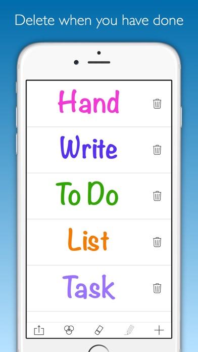 Write2Do Screenshots