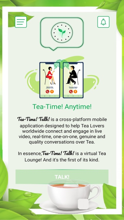 Tea-Time! Talk! - CHAT & SIP! screenshot-5