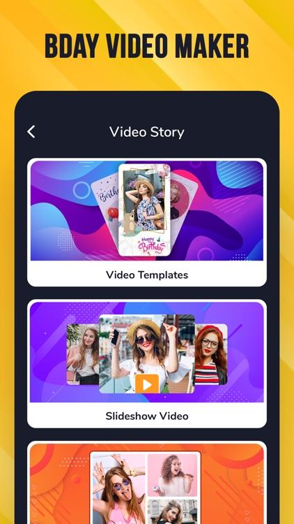 Birthday Cards - Video Maker screenshot-9