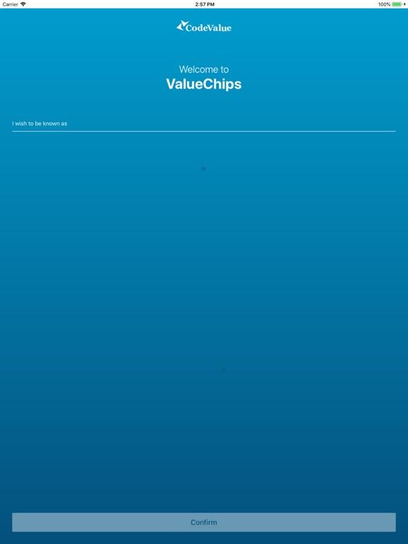 ValueChips screenshot #1