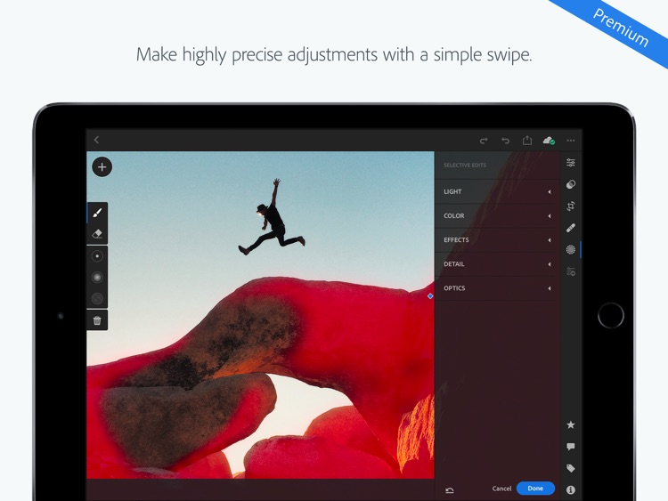 Adobe Lightroom CC for iPad screenshot-5