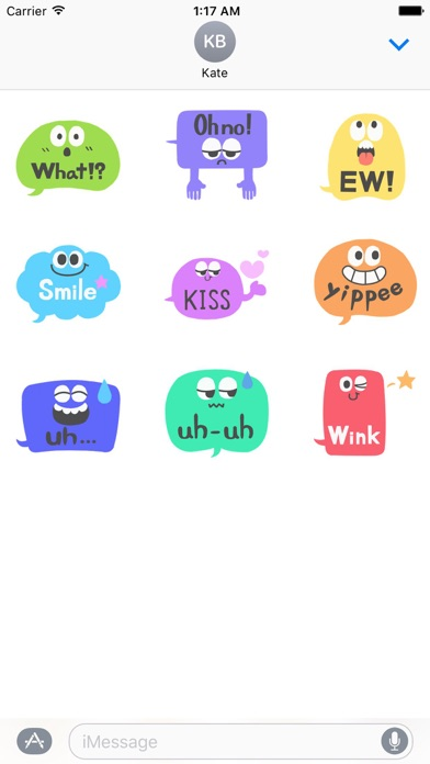 Animated Popular Chat Sticker Screenshot