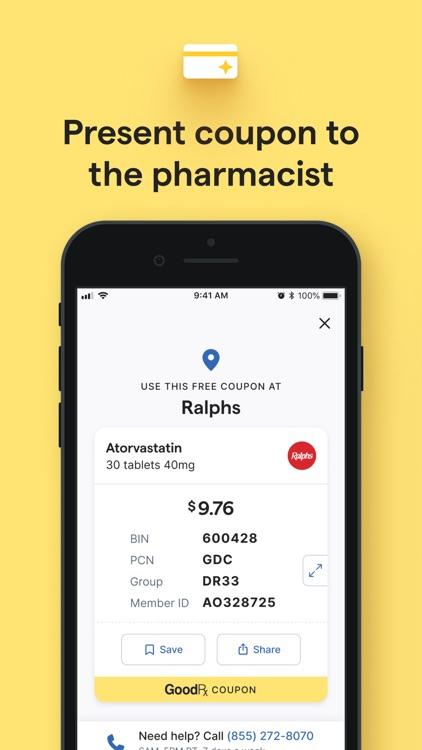 GoodRx: Prescription Coupons screenshot-3
