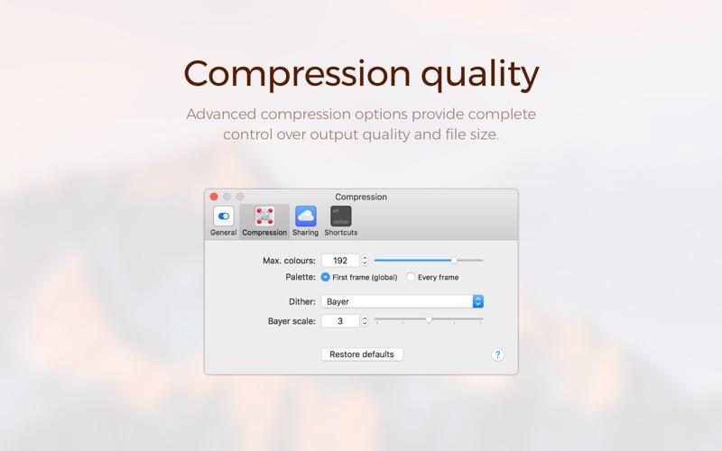 Gifox – GIF Recording & Shari… скриншот программы 4
