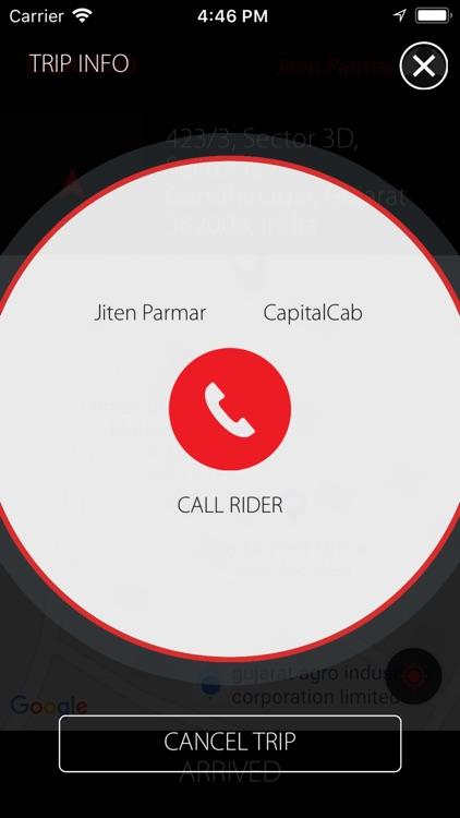 CapitalCab Partner screenshot-3